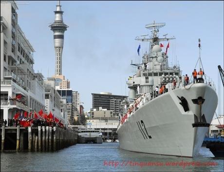 Tàu chiến của hải quân Trung Quốc .