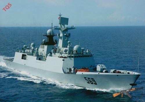 Tàu khu trục Type 054A được cho là có khả năng tấn công mạnh trên cả 3 mặt.