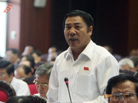 Ông Nguyễn Bá Thanh trên nghị trường