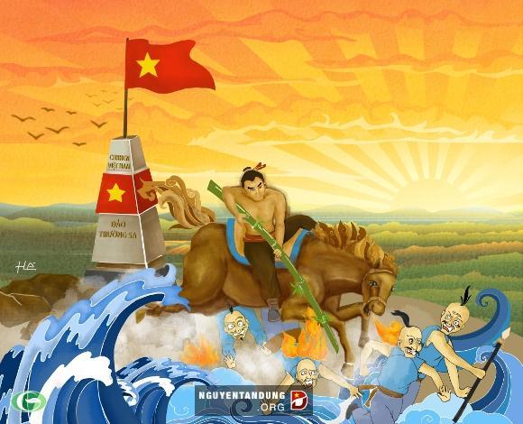 """""""Sự kết hợp"""" giữa chủ quyền biển đảo và các nhân vật lịch sử"""