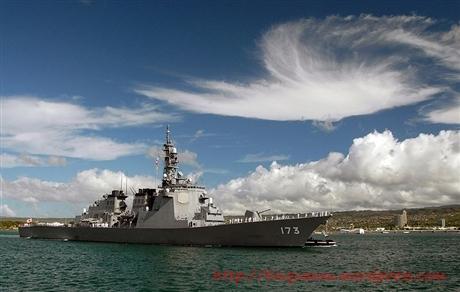 Tàu của lực lượng phòng vệ Nhật Bản