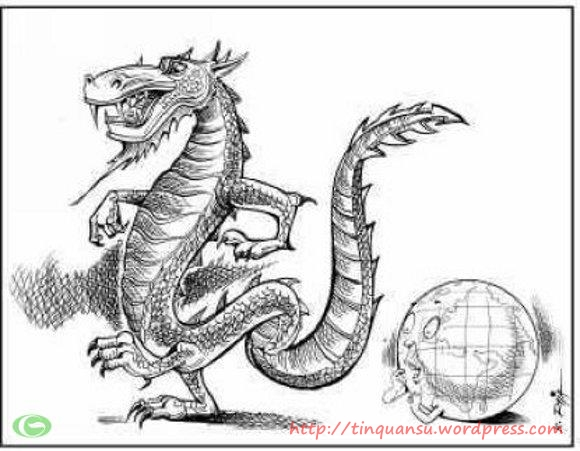 Con rồng Trung Quốc bội thực vì quá tham lam, bị cả thế giới ghét bỏ