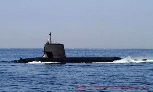Tàu ngầm thông thường lớp Soryu Nhật Bản
