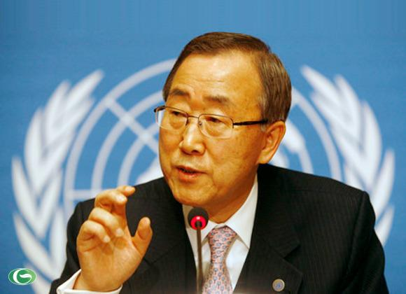 """Tổng thư ký Liên Hợp Quốc Ban Ki-moon hôm 22/1 đã lên tiếng kêu gọi các bên tranh chấp Biển Đông nên giải quyết vấn đề một cách """"thân thiện""""."""