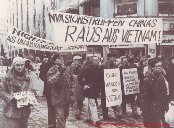Biểu tính chống Trung Quốc xâm lược Việt Nam năm 1979 tại Đức