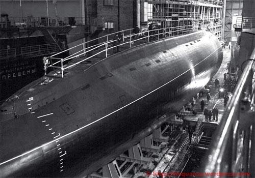 """Tàu ngầm kilo 636 """"Hà Nội"""" đang trong quá trình thử nghiệm trước khi bàn giao"""