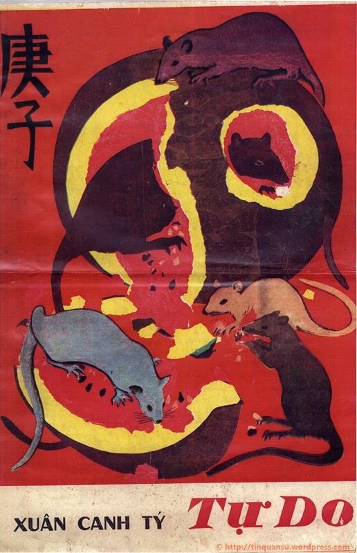 Bìa báo Xuân Canh Tý 1960.