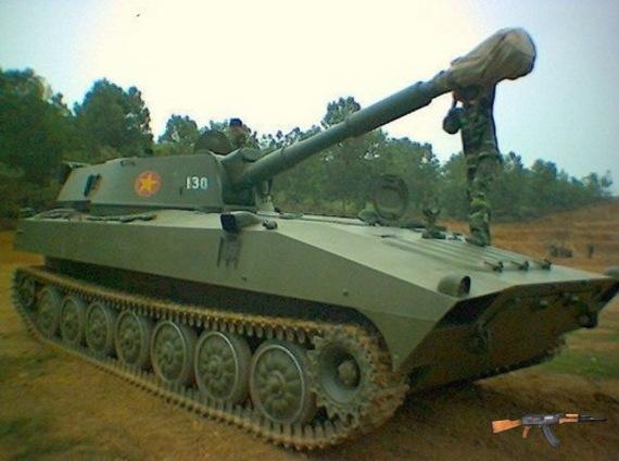 Lựu pháo tự hành 2S1 Gvozdika 122mm