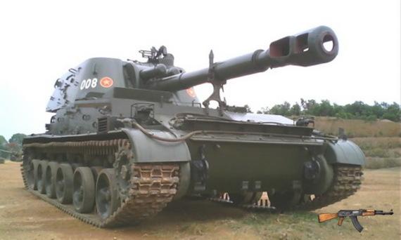 Lựu pháo tự hành 2S3 Akatsiya 152mm