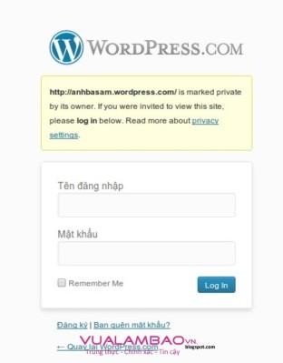 """Blog """"Anh Ba Sàm"""" bị hack?"""