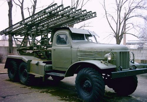Pháo phản lực bắn loạt BM-13 Katyusha