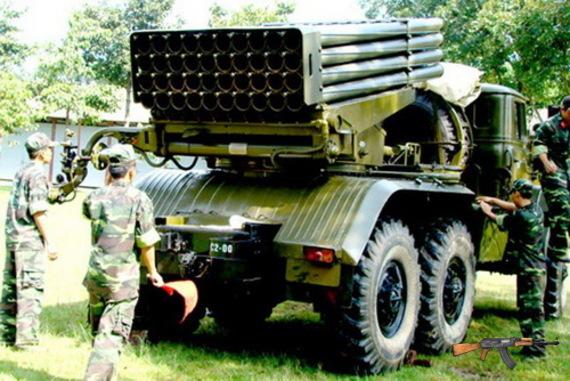 Pháo phản lực bắn loạt BM-21 Grad
