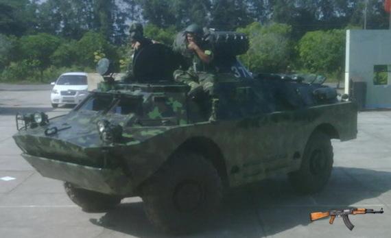 Xe bọc thép trinh sát BRDM-2
