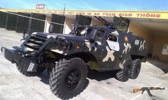 Xe bọc thép chở quân BTR-152