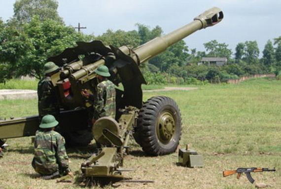 Pháo nòng dài D20 152mm