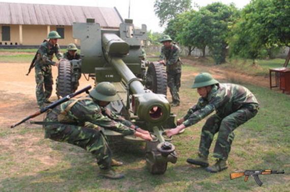 Lựu pháo D30 122mm