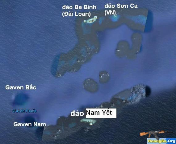 Ai đã tấn công quân Trung Quốc ở Gaven - Trường Sa?
