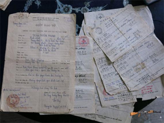 Tấm giấy báo tử gửi về quê nhà