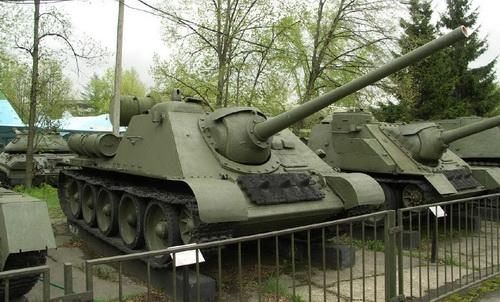 Pháo chống tăng tự hành SU-85
