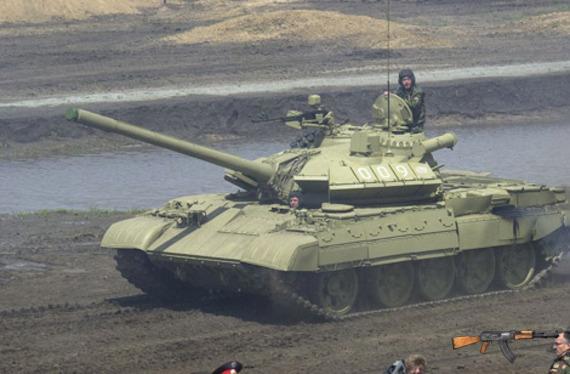 Xe tăng chiến đấu chủ lực nâng cấp T-55M5.