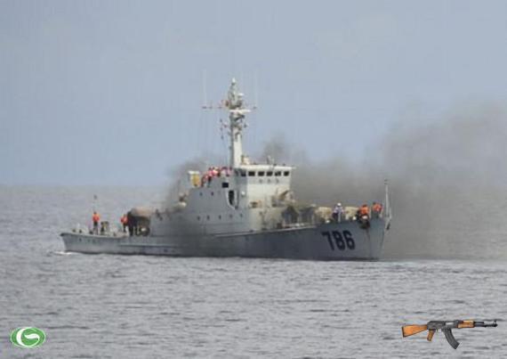 Tàu Trung Quốc số hiệu 786 đã nổ súng vào tàu cá ngư dân Việt Nam