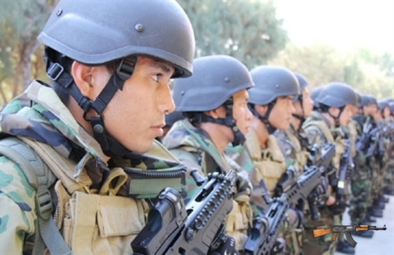 Hải quân đánh bộ Việt Nam được ưu tiên trang bị nhiều vũ khí cá nhân hiện đại hàng đầu thế giới hiện nay. Ảnh: Quân đội Nhân dân