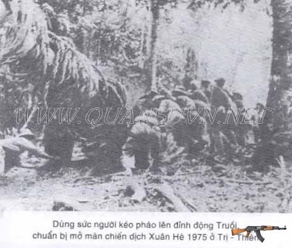 Những viên đạn ấy được bắn từ những khẩu pháo này.