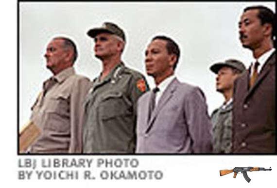 Năm 1966, Thiệu cũng từng đến Cam Ranh nhưng là để tháp tùng LBJ.