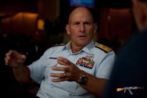 Chuẩn đô đốc William Lee - Ảnh: Navy Times