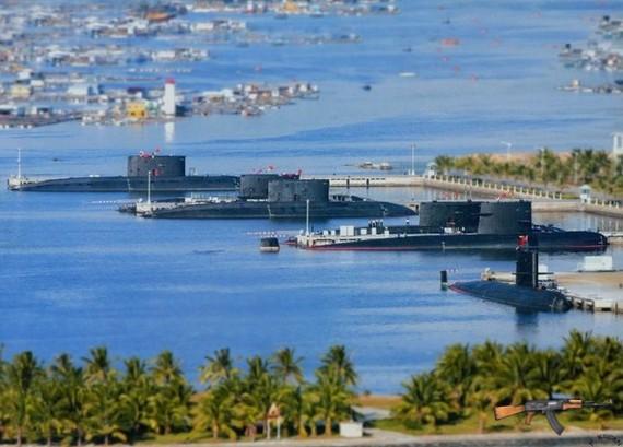 Căn cứ Hải quân Trung Quốc ở Tam Á, đảo Hải Nam