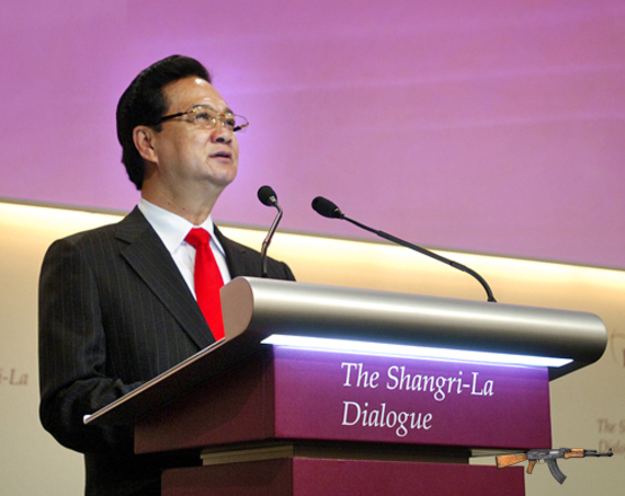 Thủ tướng Nguyễn Tấn Dũng phát biểu khai mạc Đối thoại Shangri-La