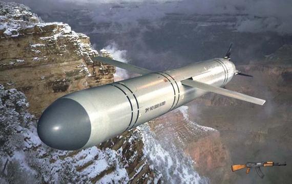 Tên lửa đối đất 3M-14E, tầm bắn 290 km, đầu chiến đấu nặng 400 kg