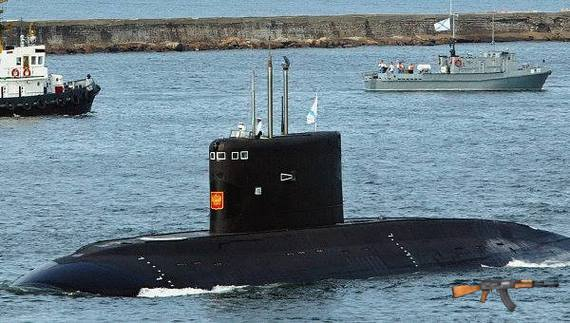 Tàu ngầm Kilo thứ 3 mang tên Hải Phòng đã hạ thủy